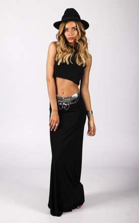 Gypsy skirt black  by Wired Angel Clothing Product photo