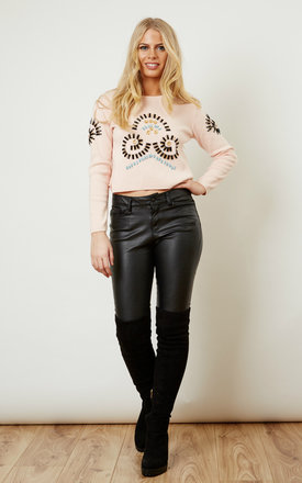 Eden beaded jumper by Jovonna London Product photo