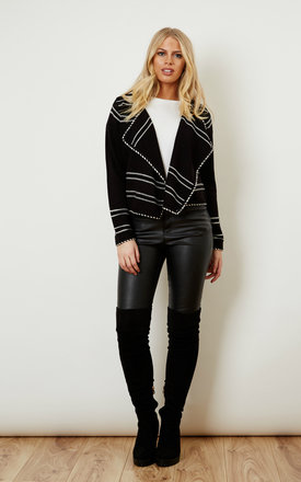 Black Short Cardigan by VM