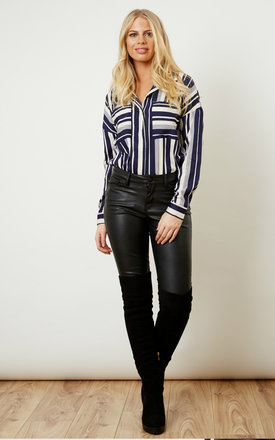 Multi-direction Striped Shirt by VM