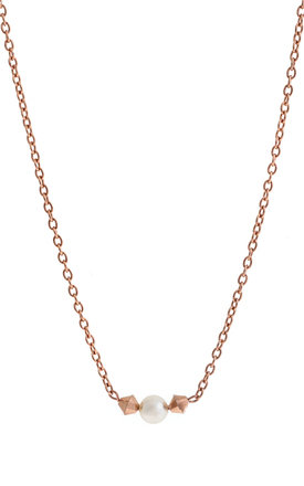 Purity Rose Gold Necklace by LHG Designs