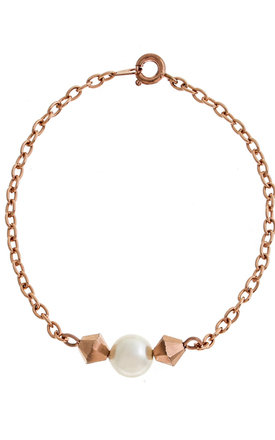 Purity Rose gold bracelet by LHG Designs