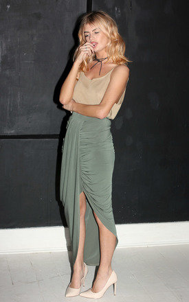 Jodie skirt khaki by Never Fully Dressed Product photo