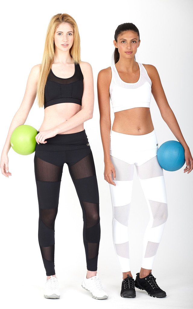 CUT OUT SPORTS BRA  (0) by Mirelle Activewear