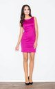Sleeveless Mini Dress in Fuchsia by FIGL