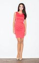 Sleeveless Mini Dress in Coral by FIGL