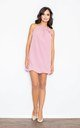 Sleeveless Mini Dress in Rose Pink by FIGL