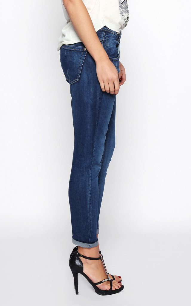 DROP CROTCH JEANS by Jezzelle