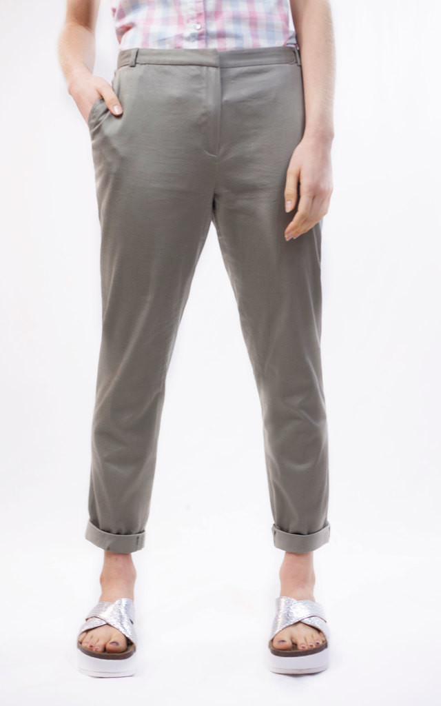 Camille - High Waisted Capri Trouser by Madia & Matilda
