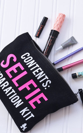 Selfie make up bag by Rock On Ruby Product photo