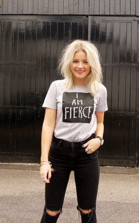 I am fierce tee by Rock On Ruby Product photo