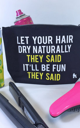 Natural hair make up bag by Rock On Ruby Product photo