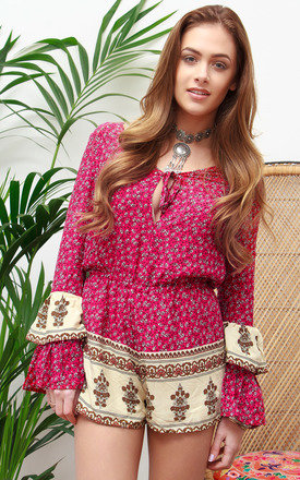 Indi boho playsuit by Allegra Product photo