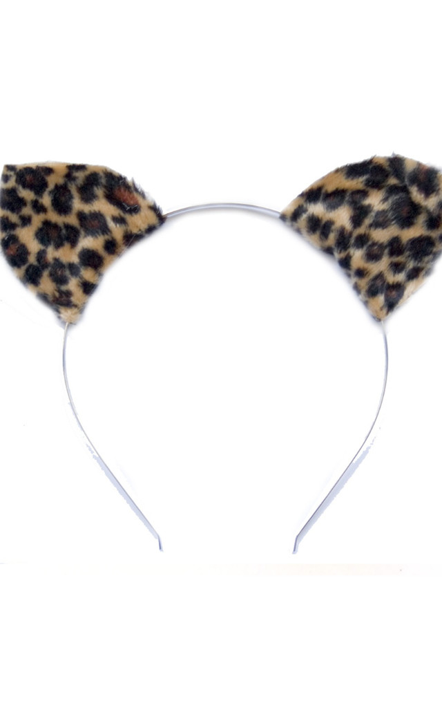 Leopard Animal Ears by Crown and Glory