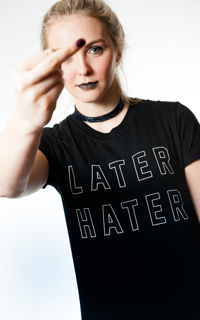 Later Hater T-Shirt by Adolescent Clothing