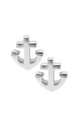 Silver Tiny Anchor Stud Earring by VeryGirly