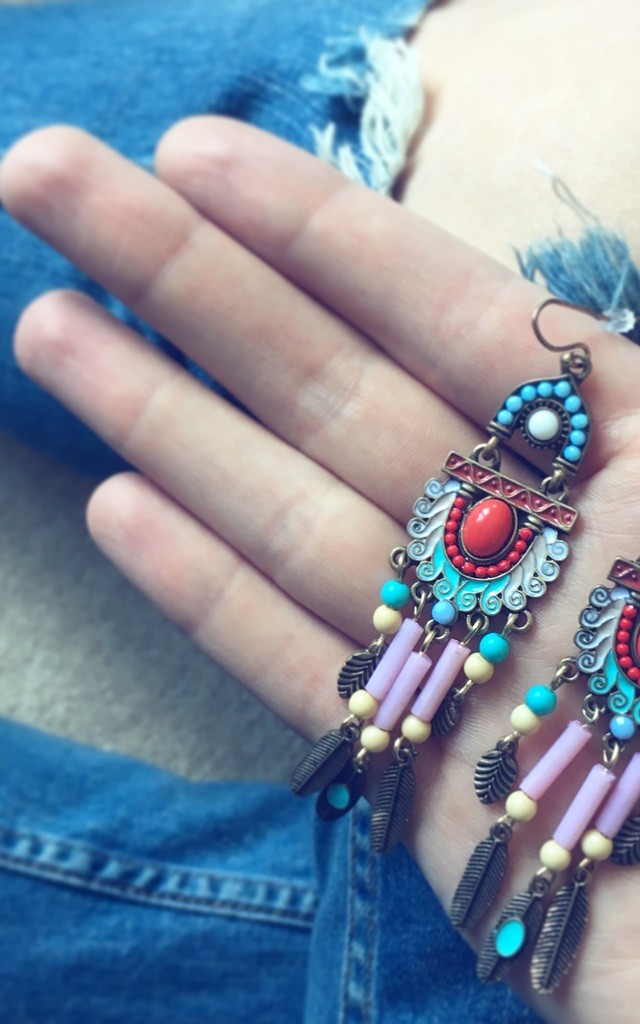 June Earrings by Timelessjunk