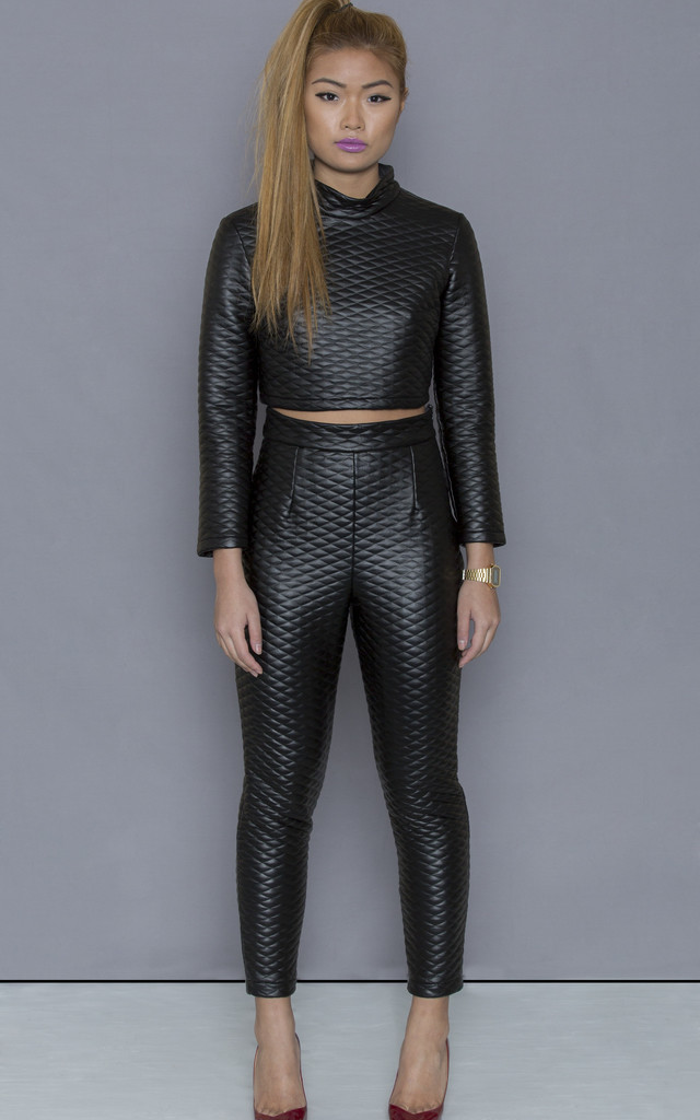 Bond Girl co-ord crop by ceekit