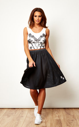 Mesh Skirt Black by We Are Still Bold and Beautiful