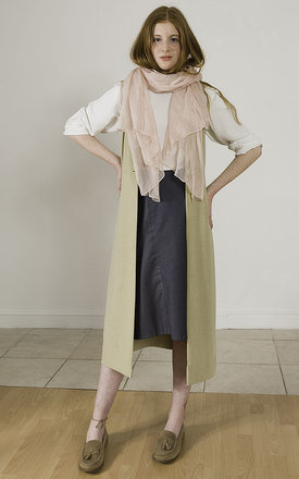 Emery - Sleeveless Jacket by Madia & Matilda