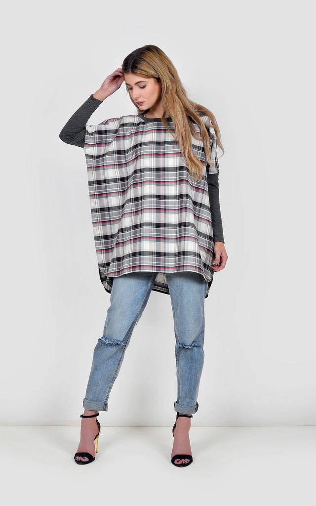 Oversized Shirt Top by The Left Bank