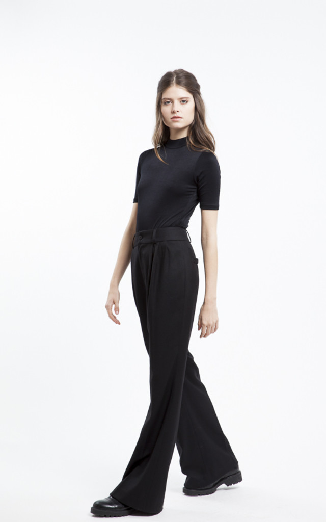 Melody Long Wide High Waisted Trouser by RA+RE