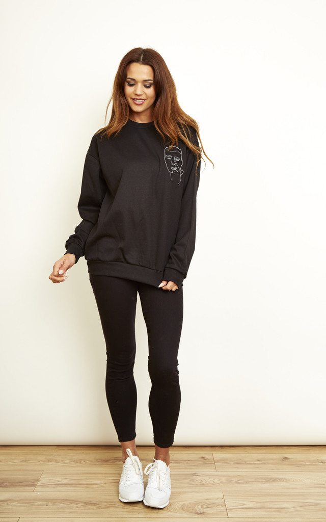 Nose Sweatshirt by We Are Still Bold and Beautiful