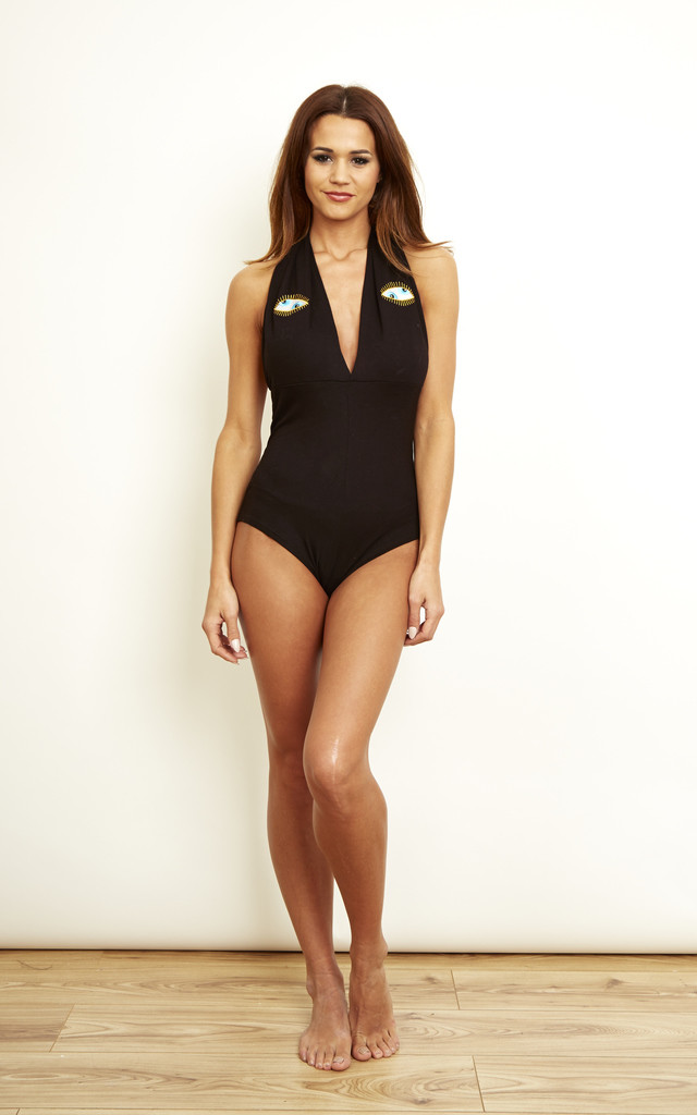Eyes Halter Bodysuit by We Are Still Bold and Beautiful