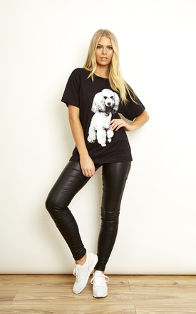Poodle T-shirt by We Are Still Bold and Beautiful