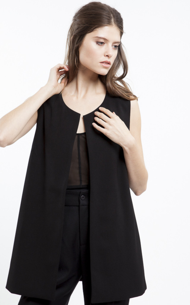 Julie Over Through Vest by RA+RE