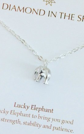 Lucky 3D Elephant on Gift Card by Diamond in The Sky