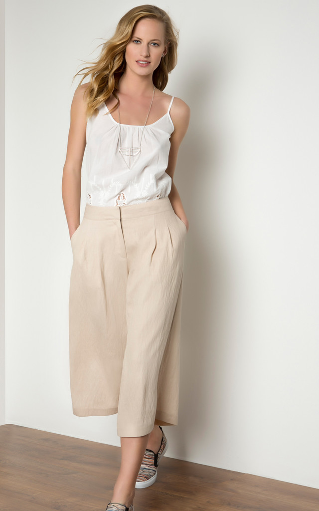 Culotte With Pocket by URBAN TOUCH