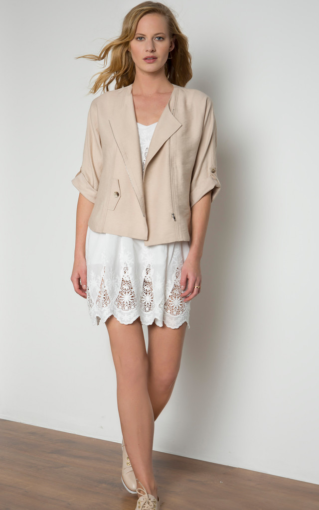 Zip Detailed Jacket by URBAN TOUCH