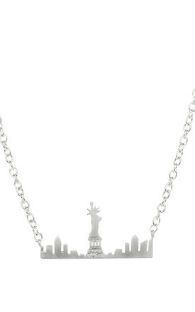 New York Skyline necklace Silver by LHG Designs