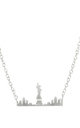 New York Skyline Necklace Gold by LHG Designs