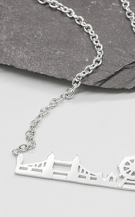 London Skyline Silver Necklace by LHG Designs