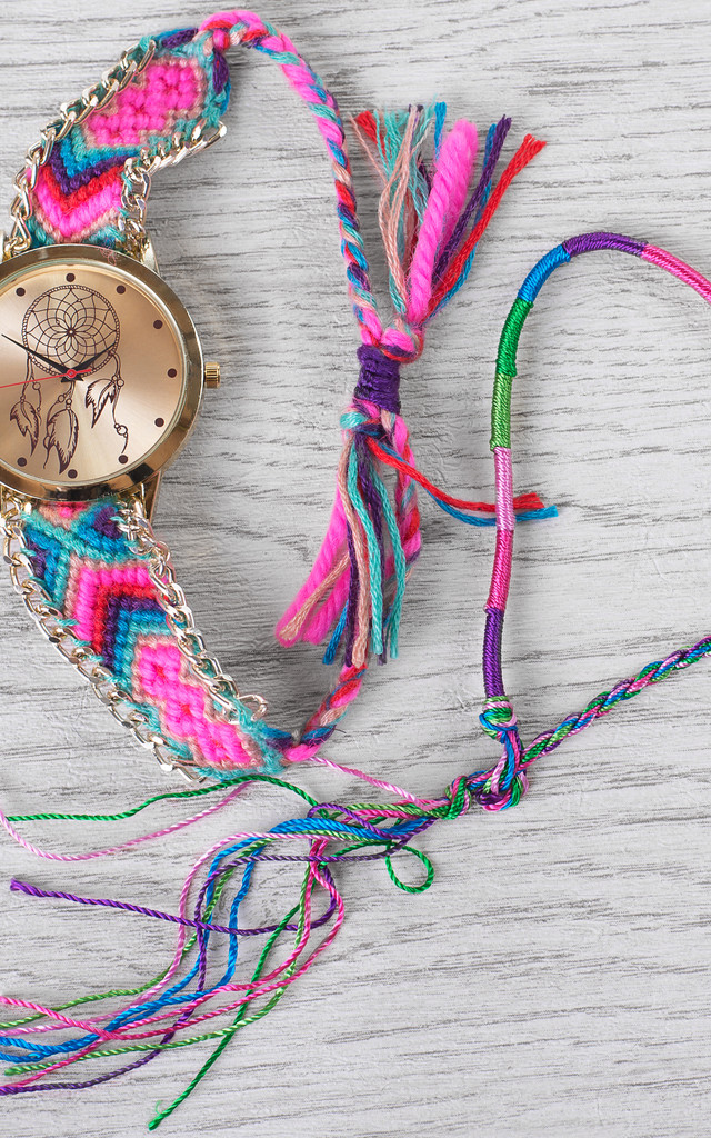 Festival Colours Dream Catcher Watch by Arcus Accessories