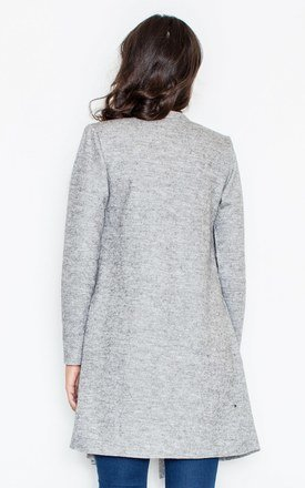 Grey Waterfall Cardigan by FIGL