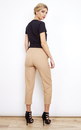 Camel Cigarette Pants by Lola May