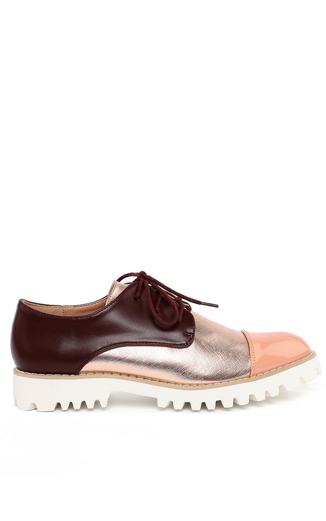 Cleated Sole Brogues by Jezzelle