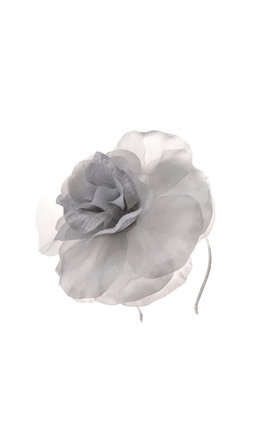 Renee Grey Corsage Hairband by Johnny Loves Rosie