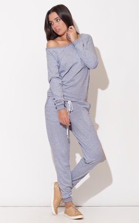 Sporty Grey Jumpsuit by KATRUS Product photo