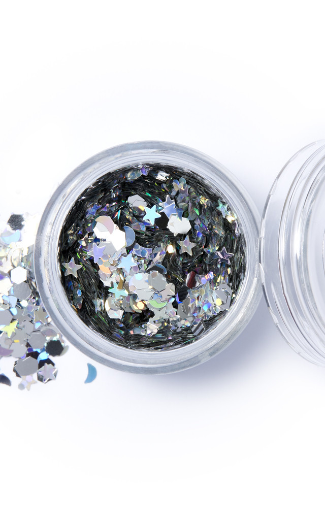 SILVER SELENE, CHUNKY GLITTER by IN YOUR DREAMS