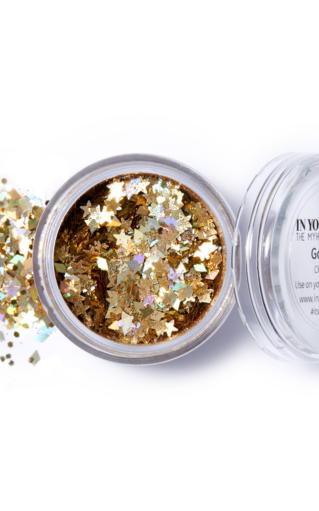 GOLD LILETH, CHUNKY GLITTER by IN YOUR DREAMS