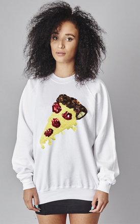 Pizza Sweater by Vintage Licks