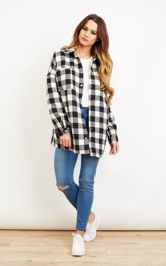 Monochrome Check Jacket by VM
