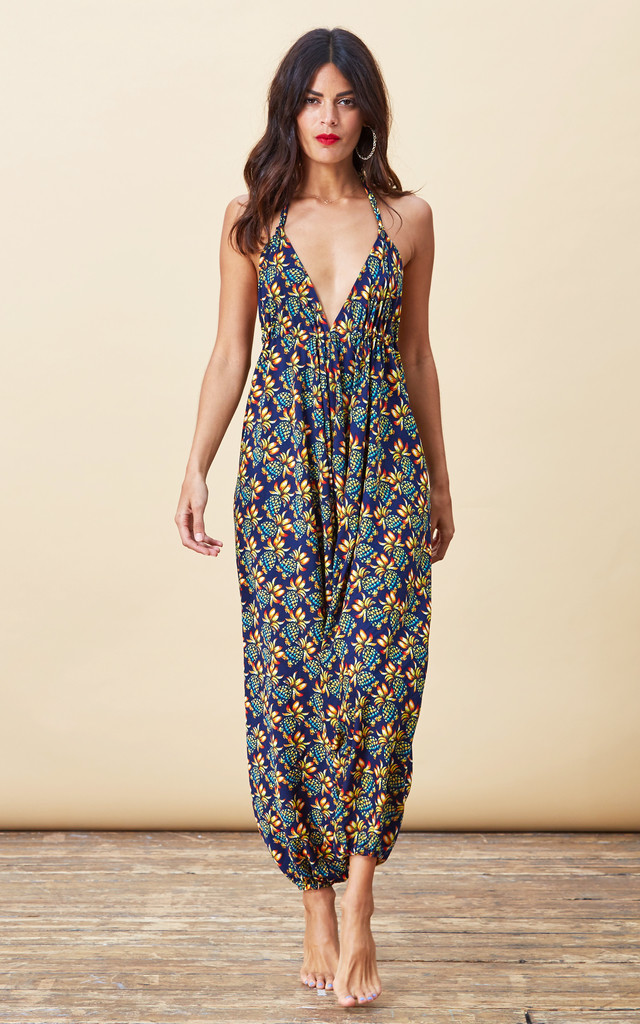 Genie Jumpsuit in Pineapple Print image