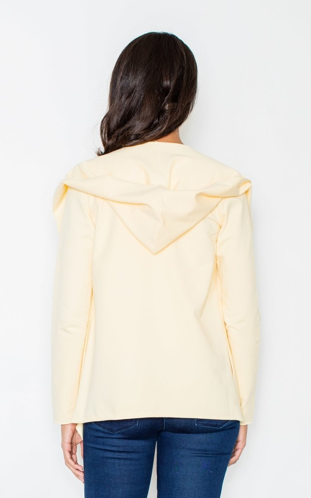 Yellow cotton throw top by FIGL