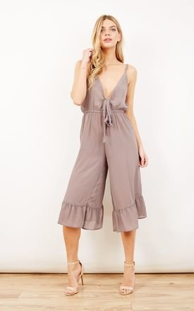 Summer Tie-Front Culotte Jumpsuit by Ethel & Mo