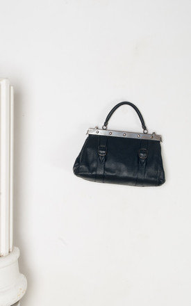 80s vintage vegan leather handbag by Pop Sick Vintage